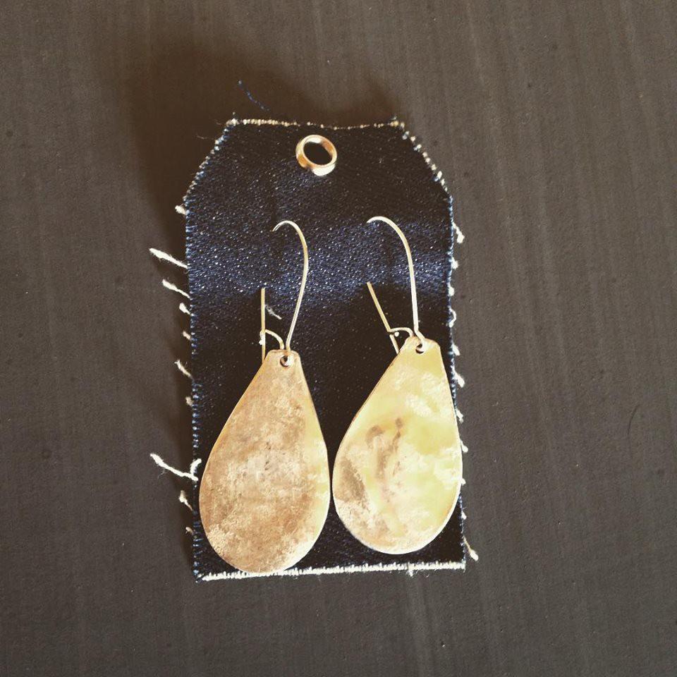 teaspoon earrings